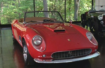 Curtindo a vida adoidado - 1961 Ferrari 250 GT California Spyder SWB