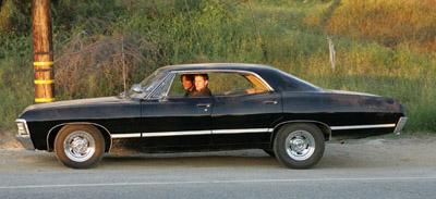 Seriado de TV Sobrenatural - Chevy Impala 1967
