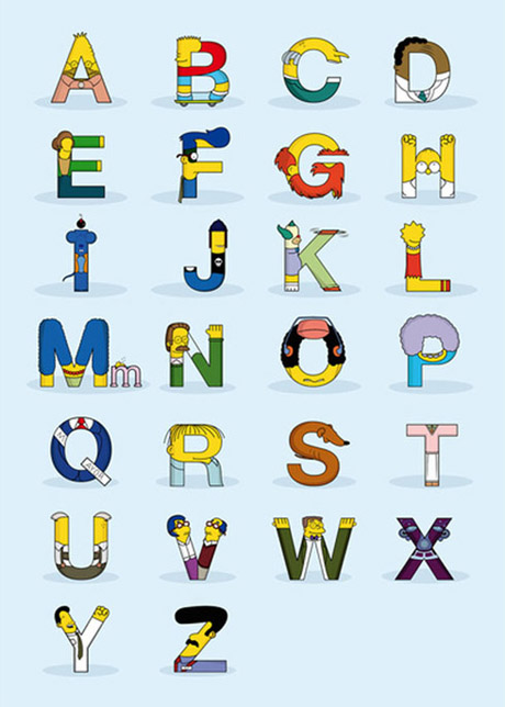 alfabeto_Simpsons