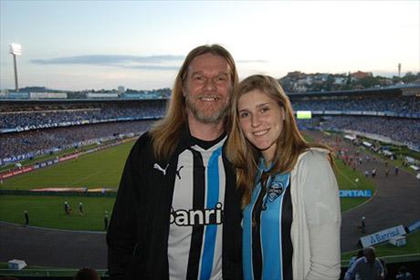 Humberto Gessinger e a filha