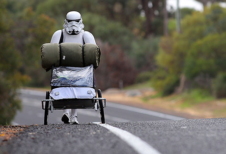 Stormtrooper Walks Australia