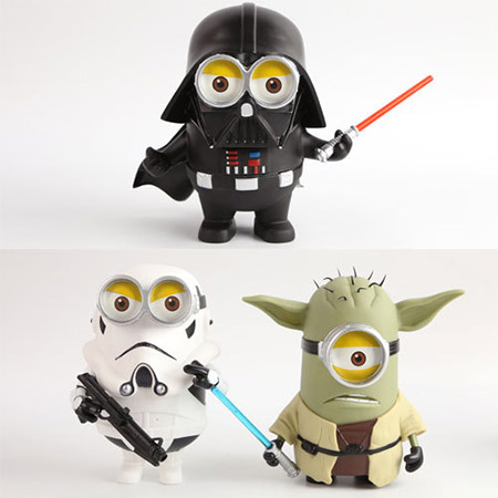 Minions-Star-WarsDarth-Vader-stormtrooper-Yoda-Soft