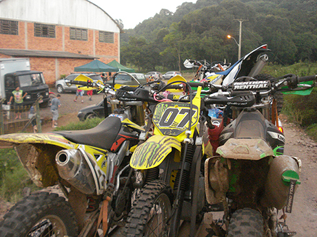 Cada vez mais motos..