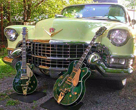 guitars_car_green