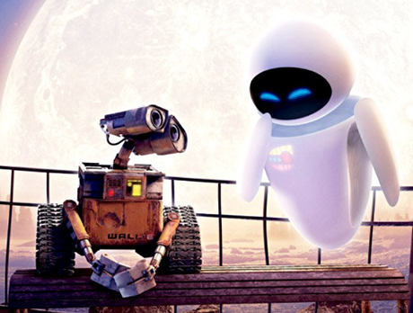 Wall•E and Eva