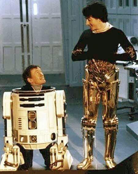 R2D2 and C3PO, 1982