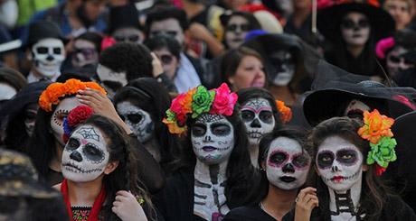 Desfile Catrinas.