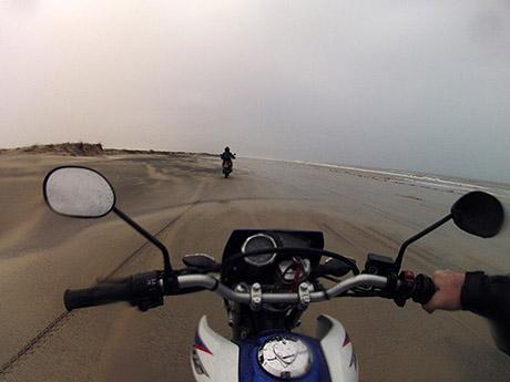 Rolê na beira da praia (único caminho para a saída