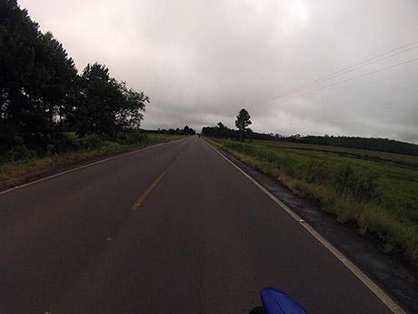 Em direção a Osório pela BR-101