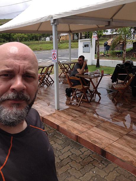 Perto de Santo Antônio da Patrulha - Secando um pouco as tralhas